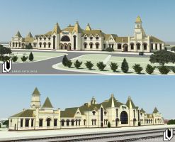 A concept of reconstruction of railway station. by Lanstream