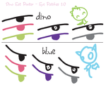 DDU - Eye Patches 1.0 by DinoEatPooter