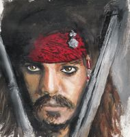 Captain Jack Sparrow by Kittypueh