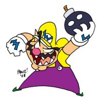 Toon Wario by EnterPraiz