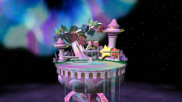 SmashU Stages - Melee Fountain of Dreams by DSX8