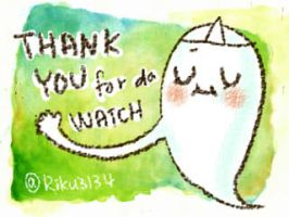Thank you for da watch [Free to use] by Riku3134