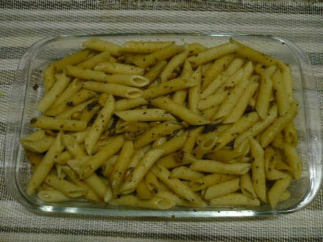 Penne with Herb and Garlic by Bbashya