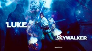 Star wars Luke skywalker 02 by HappinessIsMusic