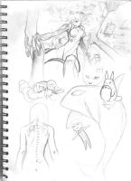Sketch Page  Number 3 by iJate