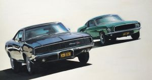 Bullitt Chase Tribute by JamesWoodhead
