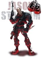 Jason Statham Expendables 2 by DazTibbles