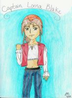 Captain Lorna Blake by LindyArt