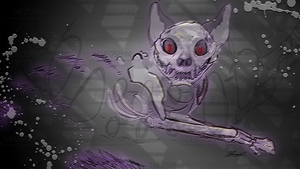 Cheshire Skeleton by Theosphir