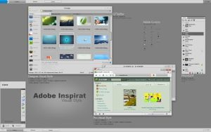 Adobe Inspirat Visual Style by bunny-inside