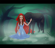 Red Ridding hood by Polar-Wolf