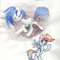 Scratch n Rainbows by Chuck-Norrisss