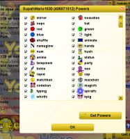My Xat Powers (August 29th) by Mario1630isAwesome