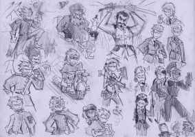 Advance Wars sketchpage by VanRipper