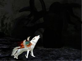 Amaterasu Okami vs. Orochi. by CrashDontFall