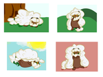 Whimsey the Whimsicott by Myscal