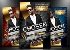 Chosen - Flyer/Poster Template by mrwooo