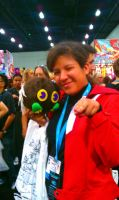 Anime EXPO, 2012: Me and My Winged-Kuriboh by MewStar13