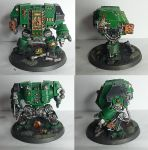Salamanders Dreadnought by Apothecary-Meros