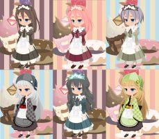 Maid anime by Adoptables4U
