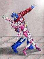 Dancing with the Autobots 1 by Kryschenn