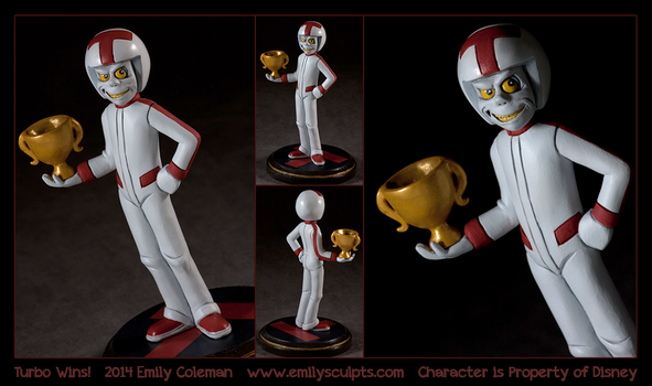 Commission : Turbo Wins! by emilySculpts