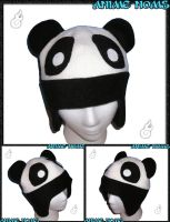 Aviator Panda Hat by AnimeNomNoms