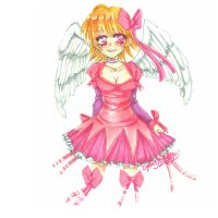 An Angel In Pink by CaptainKaddy