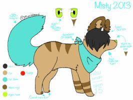 Misty 2012-13 temporary reference sheet by Mistilia