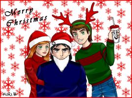 Ben 10 - Merry Christmas by kuri7