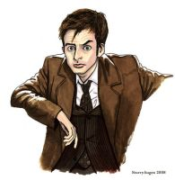 Doctor Who in a Brown Suit by StarryAugen