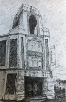 Quick sketch of a place that no longer exists... by SamSquared