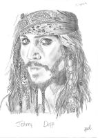 captain Jack Sparrow by 05emort123