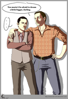 Inception FanArt:Arthur+Eames by Shin-ichi