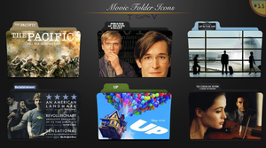 Movie folder icons NO.15 by dyinginthesun