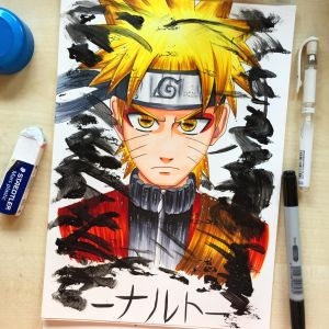 Naruto Uzumaki Mode Eremite by xxMi-ChansArtxx