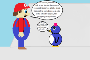 Mario 64 Baby Penguin (in a different light) 8 by CJO1234