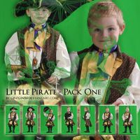 Little Pirate - Pack One by Georgina-Gibson
