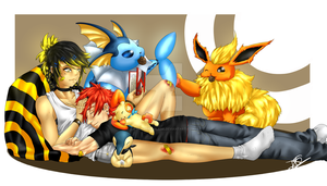 Rest_With_Pokemons by Denishellflame