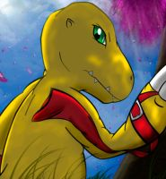 Agumon by Meraence