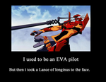 Evangelion Lance to the face demot. by metalshadowinsanity