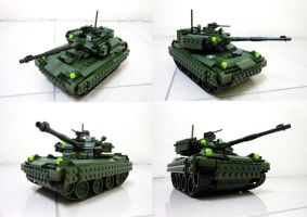 Lego Compact Tank 2.1 by SOS101