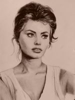 Sophia Loren by magentalight
