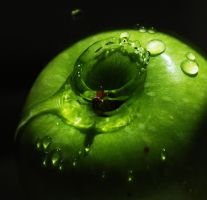 Green Apple by JenRoyce