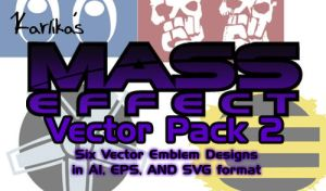 Mass Effect Vector Pack 2 by Karlika