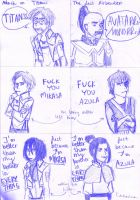 SnK/TLA:These families... they're the same by sylwia1098