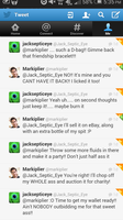 Mark and Jack's Twitter Conversation by SootSettlesonSnow
