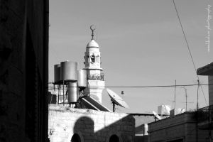 Mosque in Bethlehem by nasahkalam