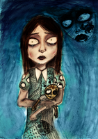 The girl who saw ghosts by salvi-burton