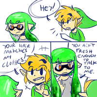 Rejected Toon Link :'c by Hylian-Zora